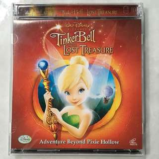 Disney Tinkerbell and the Lost Treasure movie VCD
