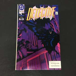 Detective Comics 633 DC Comics Book Batman Movie Justice League