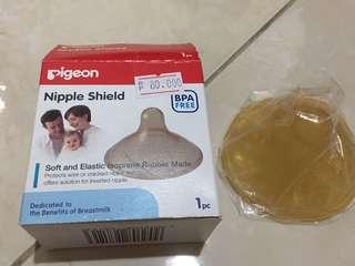 Pigeon nipple shield