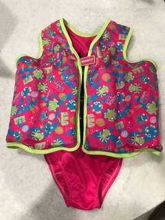 Speedo kids children swimming float jacket