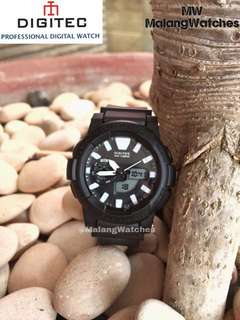 Jam tangan Digitec women double time black