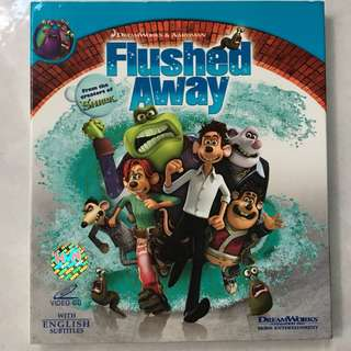 DreamWorks Flushed Away movie VCD