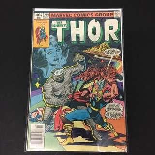 Thor 289 Marvel Comics Book Stan Lee Movie Avengers