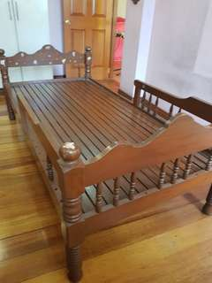 Single Bed Narra Wood