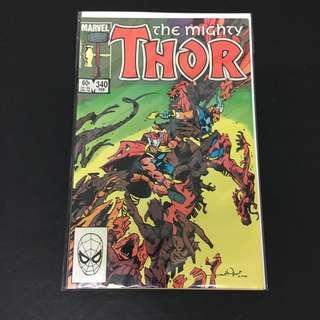 Thor 340 Marvel Comics Book Stan Lee Movie Avengers