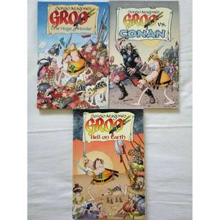 GROO comics set (Dark Horse Books)