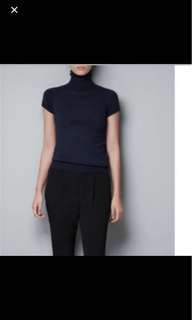 Zara Basic Turtle Neck Top