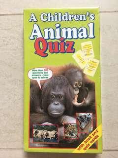 A Children's Book Of Animal Quiz