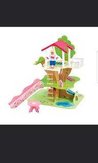 ELC wooden treehouse toy