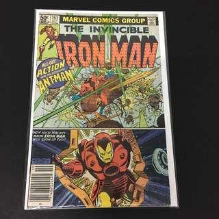 Iron Man 151 Marvel Comics Book Stan Lee Movie Avengers Ironman