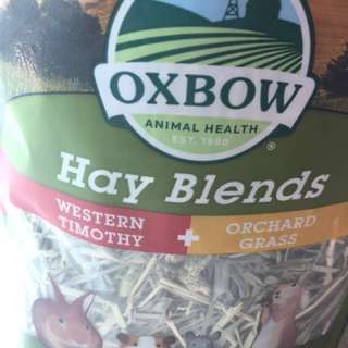 Oxbow Hay Blends for small animals