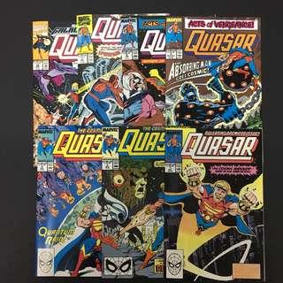 Quasar 1 to 7 Marvel Comics Book Avengers Movie