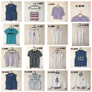 🚚 衣服褲子外套便宜賣,不超過200,有興趣可私訊看大圖