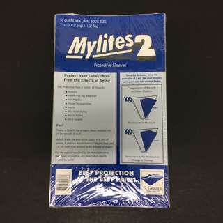 Mylites2 Protective Sleeves for Comic Books