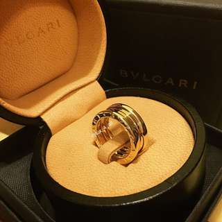 Bvlgari B.zero1 3-band 18kt Yellow Gold Ring