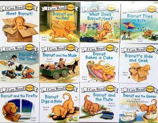 Brand New 12 pcs I-Can-Read Phonics Books Series