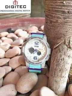 Jam tangan Digitec women double time