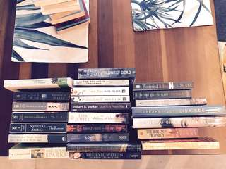 24 Books for Sale