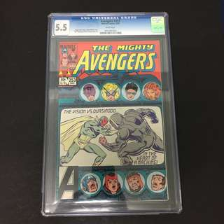 Avengers 253 CGC Marvel Comics Book Stan Lee Movie