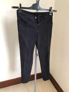Uniqlo Black Ankle Length Pants