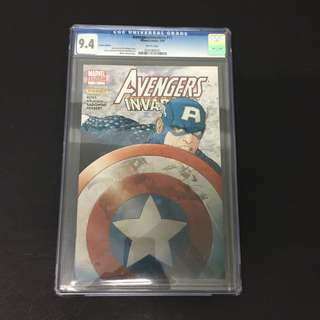Avengers/ Invaders 11 CGC Marvel Comics Book Stan Lee Movie