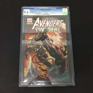 Avengers/ Invaders 5 CGC Marvel Comics Book Stan Lee Movie