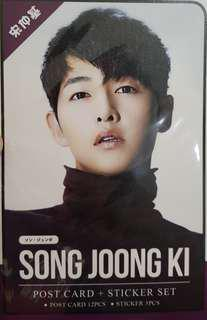 WTS Song Joong Ki 12 x Post cards & 1 x Stickers