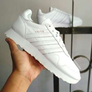 Adidas Haven Leather Full White
