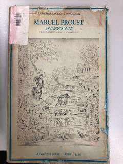 Swann's Way (1 of 7 in Marcel Proust's Remembrance of Things Past Series)