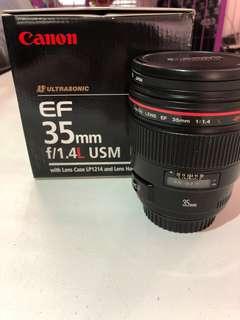 Canon 35mm 1.4/f