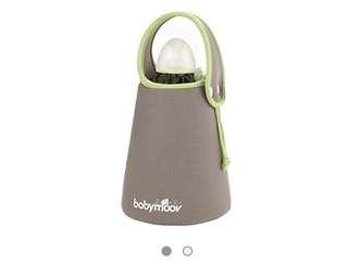 Baby MOOV bottle warmer for traveling
