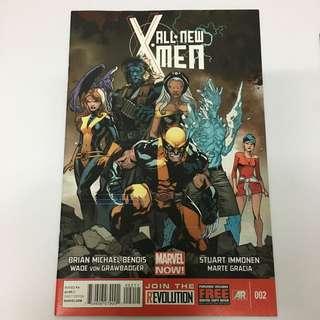 All New Xmen 2 Marvel Comics Book Stan Lee Movie