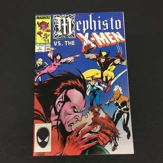 Mephisto VS Xmen 3 Marvel Comics Book Stan Lee Movie