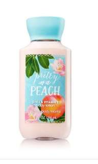 Pretty as a peach body lotion 88ml