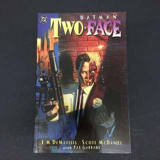 Batman: Two-Face: Crime & Punishment TPB DC Comics Book Dark Knight Movie