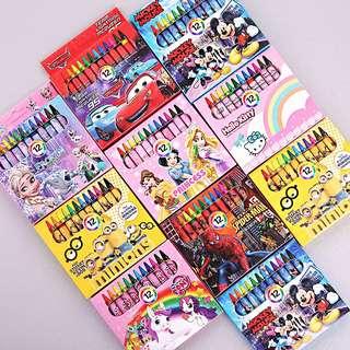 Cartoon Crayon- Goody Bag