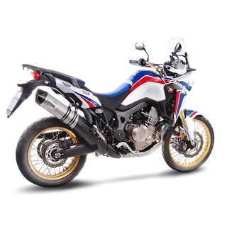 Honda CRF 1000 L Africa Twin / LEOVINCE LVONE Stainless Steel