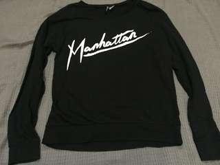 H&M Black Manhattan Sweater