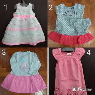 Preloved Branded Girls Dress