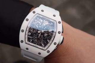 Richard Mille RM011 White Ghost Swiss QC Grade