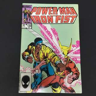 Power Man & Iron Fist 120 Marvel Comics Book Avengers Movie Defenders