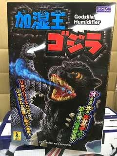 男魂 mansoul 現貨 最後幾隻! Shine Godzilla Humidifier 21cm Figure The King of Humidification LED + Sound 哥斯拉 加濕王 發光發聲加濕器