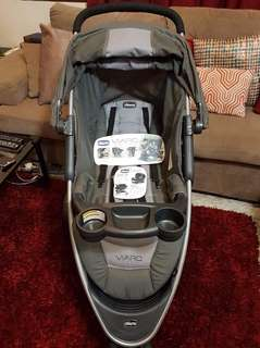Chicco viaro stroller and graco carseat carrier