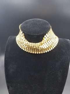 金色亮頸箍(不变色)