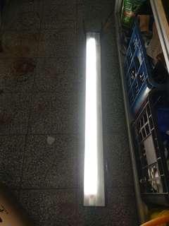水族魚燈 4尺 二手 300 限自取 T8 單燈管