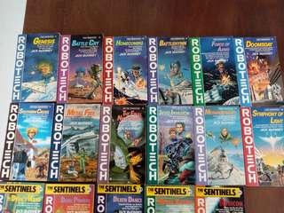 COMPLETE Robotech/Macross books & DVDs