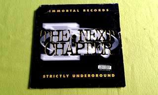 NEXT CHAPTER . strictly underground . ( Double Album )( Parental Advisory ~ Explicit Lyrics) vinyl record