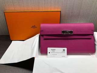 Hermes Kelly Wallet Limited Color