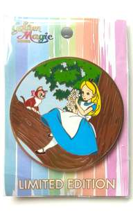 Disney Pin Acme Le300 Alice 迪士尼徽章