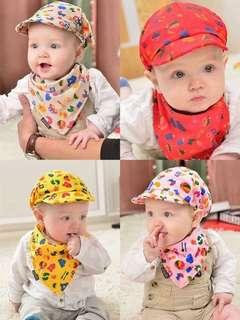Baby hat saLiva toweL set